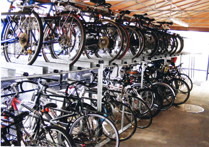 space saving - Indoor Bike Rack